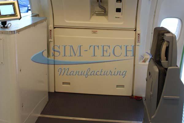 B-747-400 Upper Door & SIM-TECH Manufacturing - B-747-400 Upper Deck Door