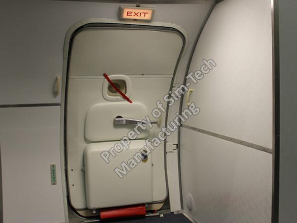 B737 NG L1 Door Trainer & SIM-TECH Manufacturing - B737 L1 Door Trainer