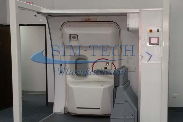 B-747-400 Lower Door & SIM-TECH Manufacturing - B-747-400 Main Cabin Entry Door Trainer